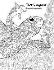 Tortugas: Tortugas Libro para Colorear para Adultos 1 by Nick Snels (2016,...