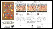 Nations Unies (Série les droits de l'homme) 1991 FDC - 1