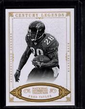 2012 NATIONAL TREASURES CENTURY LEGENDS FRED TAYLOR SERIAL #ed 5/10