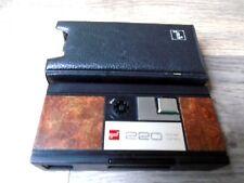 Vintage GAF 220 Instant Load Pocket 110 Film Camera in Original Cas, 1970's