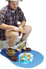 Potty Fisher Toilet Time Bathroom Fish Fun Gag Gift Novelty Game Joke Humor Set