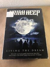 Uriah Heep - Living The Dream (Collector's Box) (NEW CD+DVD+T-SHIRT)