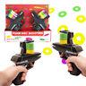 Twin Disc Shooter Guns Toys Toy Foam Disk Gun Twin Pack Birthday Christmas Gift