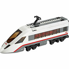 Lego Genuine City Passenger Train Railway White End Carriage from 60051 - NEW