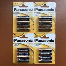 16 x Panasonic AA Batteries alkaline Power LR6 1.5V Lasting Energy Longest Exp