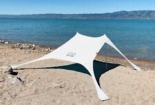 Shades X-Large Beach Shelter White   Sun Shade