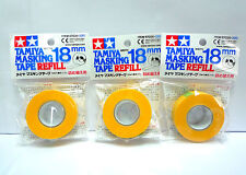 TAMIYA Masking Tape Refill 18mm / 87035 / 3 packs / Made in Japan