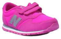 New Balance KE420NKI Infants Suede Leather Fuchsia Trainers