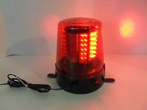RED Electric Adjustable Speed Emergency Caution Warning LED Light Vehicle Party