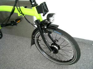 Brompton Faltrad H6LR Lime Green/Schwarz Black Edition