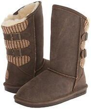 Bearpaw Boshie - Women's Snow Boot - 1669w Chestnut Distressed - 11 Wide