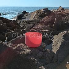 "10"" C Root Red Chakra Quartz Crystal Singing Bowl Meditation Heal Stone"