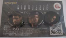 Capcom BIOHAZARD HD Resident Evil Limited Pins Set Chris Jill Wesker - US Seller