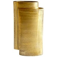Cyan Design Small A Step Up Vase, Antique Brass - 8951