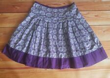 Talbots 12P purple skirt women's petite side zip