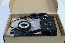 48 White LED Ring Light Illuminator For Navitar Optem ect Video Zoom Microscope