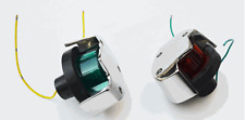 Stainless Steel Navigation Bow Lights for Boston Whaler -- Pair