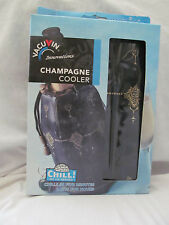 Brand New in Box Vacu Vin Innovations Champagne Cooler Bag No Ice Needed Black