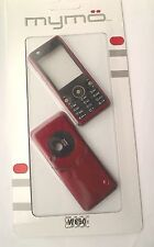FASCIA HOUSING BACK COVER FACE FOR SONY ERICSSON W660 RED