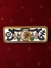 32nd TRIENNIAL CONCLAVE  Masonic Pin Badge DENVER COLORADO 1913
