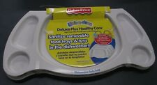Set x 2 NEW Fisher - Price Link-A-Doos Dishwasher Safe  Removable Feeding Trays