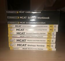 The Princeton Review MCAT 2020 -- 11 books total! BRAND NEW