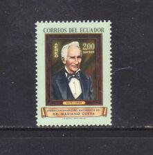 ECUADOR 1963 MH SC.C412 Dr.Mariano Cueva