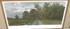 "C. HARRY EATON ""THE COUNTRY ROAD"" ORIGINAL COLOR ENGRAVING"