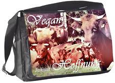 KUH Harzer Tierrecht - COLLEGETASCHE Handtasche Tasche Bag 34 - GO VEGAN 36