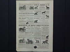 The Breeder's Gazette, Advertising Page, Cows, Horses, c.1880's #09