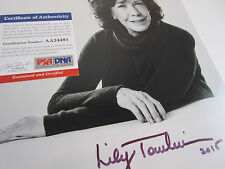 SIGNED Lilly Tomlin Oscar Nom. Genuine Autograph & COA by PSA DNA