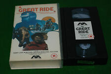 A GREAT RIDE   vhs biker movie rare PRE CERT VIDEO