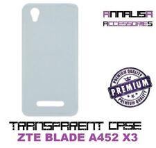COVER TRASPARENTE ZTE BLADE A452 X3 CUSTODIA PROTEZIONE TPU TRANSPARENT CASE