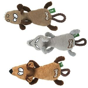 Plüschtier Ratte Hundespielzeug mit Quietscher Hunde Spieltier Wurftier ca.36cm