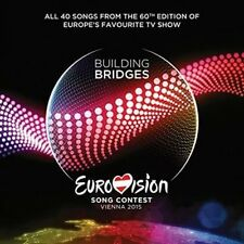 Eurovision Song Contest 2015 Building Bridges Vienna All Songs 2-disc CD NEW
