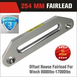 254mm Offset Fairlead Aluminium Alloy Synthetic Dyneema Rope ARB TJM 4WD