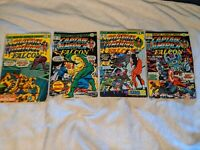 Captain America and the Falcon (1968) 187-190 Marvel Comics Group Fair LOT 4