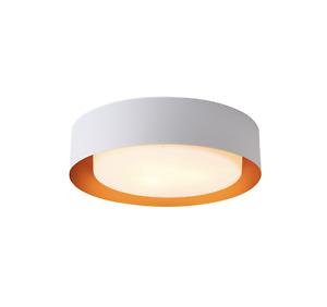 Bromi Design B4106 White and Gold Flush Mount Ceiling Light
