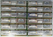 Qimonda/HP 24GB (12x2GB) PC2-5300F DDR2 Registered ECC Server FB-DIMM 398707-051