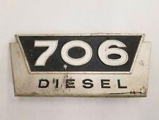 Farmall 706 Diesel Emblem