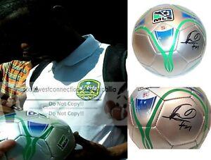 Maurice Edu Autograph Signed MLS Soccer Ball Philadelphia Union USMNT Proof