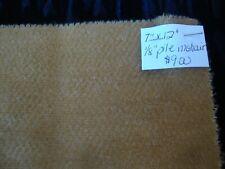"""Teddy Bear Making Fabric - 1/8"""" Pile Mohair - Camel Colour - 7"""" x 12"""""""