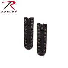 Black GI Style 9 Hole Zipper Boot Lace 6195 Rothco