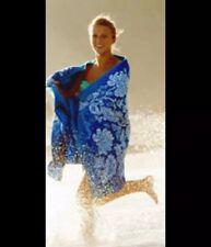 NEW VERA BRADLEY BLUE LAGOON BEACH TOWEL 64x33