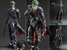Play Arts Kai Batman Arkham Origins Joker Action Figure Figurine No Box