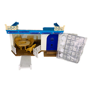 Calico Critters Sylvanian Families Seaside Restaurant Playset Incomplete Epoch