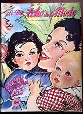 Almanach Le petit Echo de la Mode Année 1952