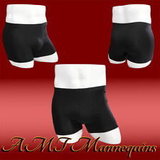 Male white glossy mannequin hips display panties/ life size manequin hips-Mk