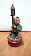 "Rare "" Finians Guardian of the Blarney Stone Music Box #44419"