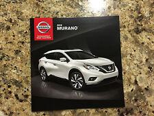 2016 Nissan Murano 16-page Original Sales Brochure